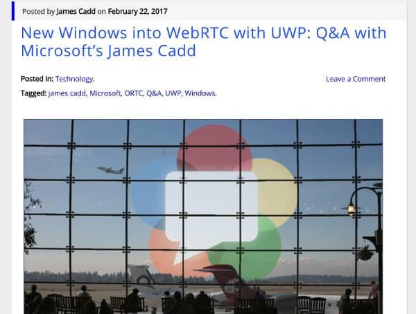 WebRTC blogs help your skills