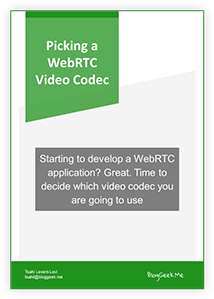 What's the Role of WebAssembly in WebRTC? • BlogGeek me